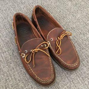 Allen Edmonds AE Northland Boat Shoes Sz 9.5D